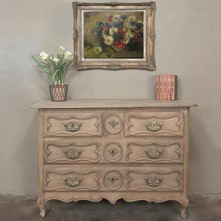 18th Century Country French Stripped Oak Provincial Commode Preview