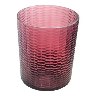 Bungalow 5 Risa Hurricane Vase, Pink For Sale
