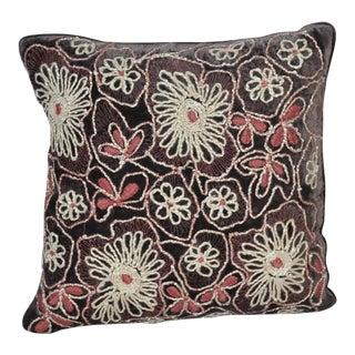Anke Dreschel Pillow in Imperial Purple
