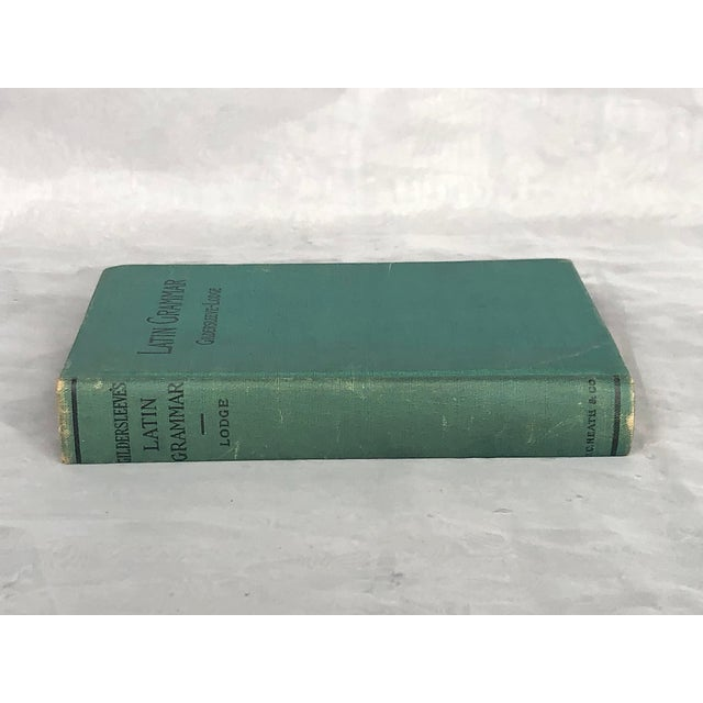 Shabby Chic Antique Latin Textbook For Sale - Image 3 of 13