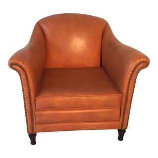 Mid-Century Naugahyde Club Chair