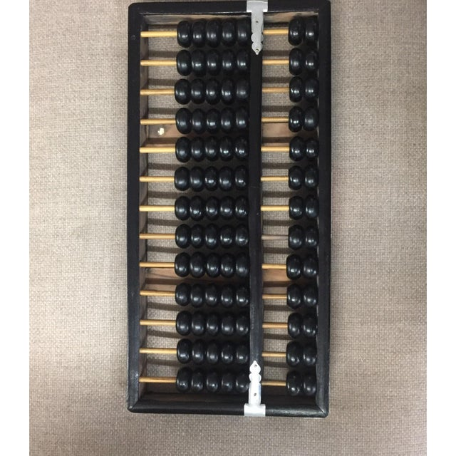 Vintage Black & Natural Wood Abacus - Image 4 of 4