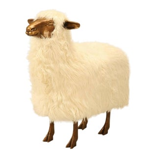 Life Size Sheep from the Old Plank Collection For Sale