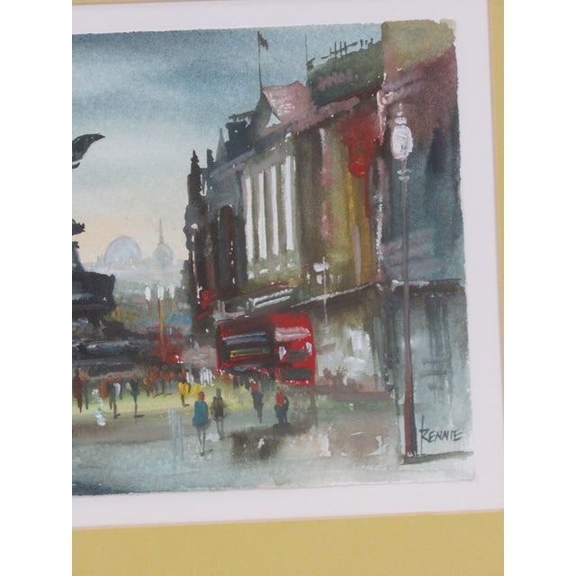 """""""Eros"""" Piccadilly Circus Painting For Sale - Image 6 of 13"""