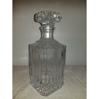 Mid 20th Century Cut Lead Crystal Decanter Preview