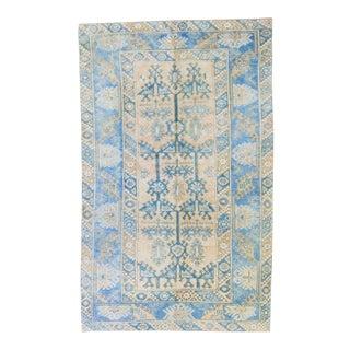 "1960s Anatolian Tree of Life Oushak Dosemealti Wool Pile Handwoven Rug - 3'11.5"" X 6'5"" For Sale"