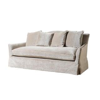 Modern Hattie Mohair Sofa For Sale