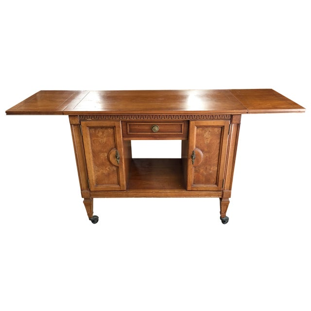 Extendable Console Side Table - Image 1 of 5