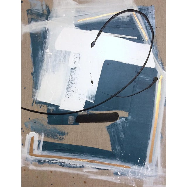 'GEHRY' original abstract painting by Linnea Heide - Image 1 of 8