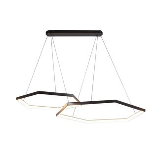 Hexia Duo Hxd46 Chandelier Light Fixture For Sale