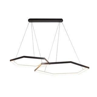 Hexia Duo Hxd46 Chandelier Light Fixture For Sale