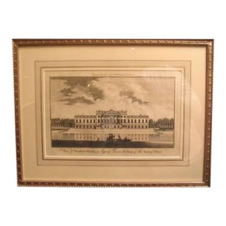 18th Century Architectural Drawing For Sale