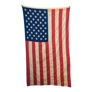 Vintage Cotton American Flag