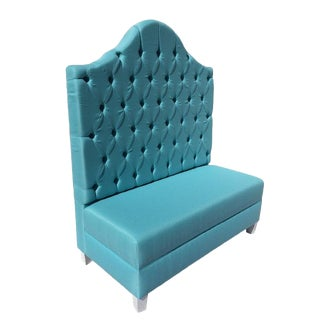 Tufted Banquette Dining Bench For Sale