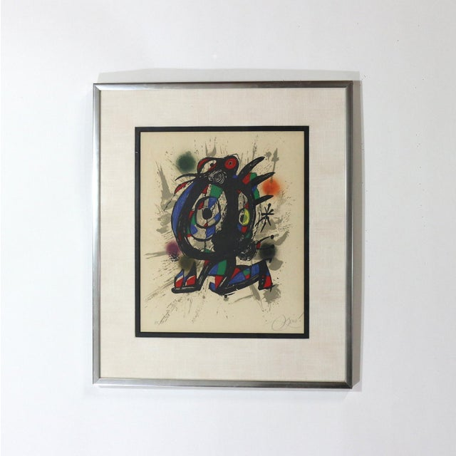 1960s Joan Miró Lithograph - Image 4 of 5