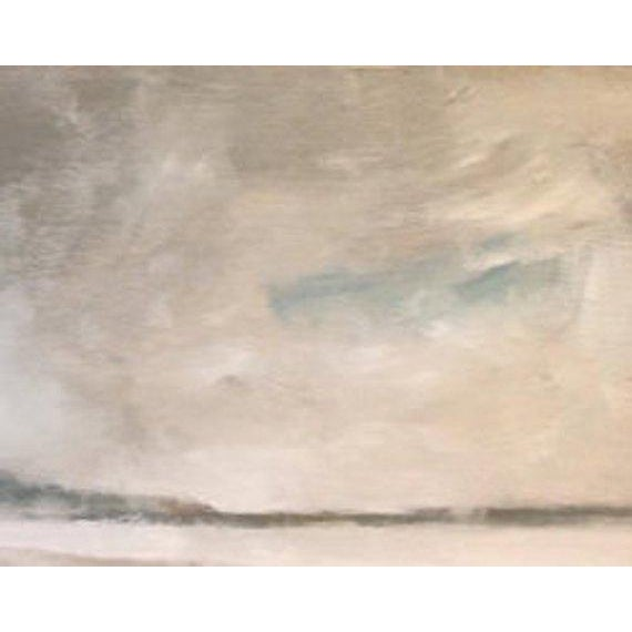 2010s Rolling Fog Limantour Beach Point Reyes Seashore Painting For Sale - Image 5 of 7