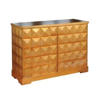 Elegant Custom Diamond Cabinet by Barbara Barry for Baker For Sale