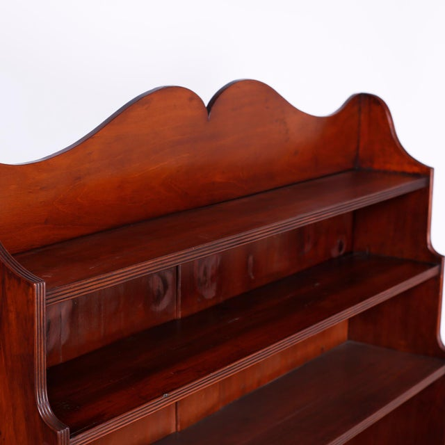 Mid 19th Century English Step Down Bookcase For Sale - Image 5 of 10