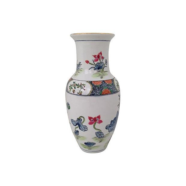 Chinoiserie Porcelain Vase - Image 3 of 5