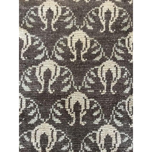 "Bellwether Rugs Vintage Brown Patterned Turkish Rug ""Remy"" - 4′2″ × 6′1″ For Sale - Image 5 of 7"