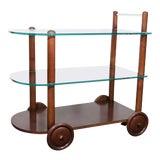 Image of Art Deco Gilbert Rohde Bar Cart For Sale