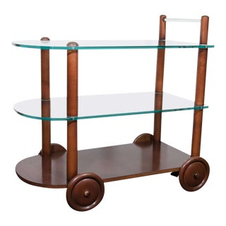 Art Deco Gilbert Rohde Bar Cart
