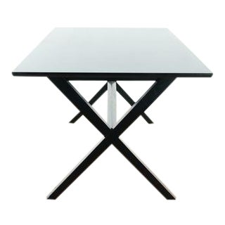 Contemporary Crate & Barrel Dining Table For Sale