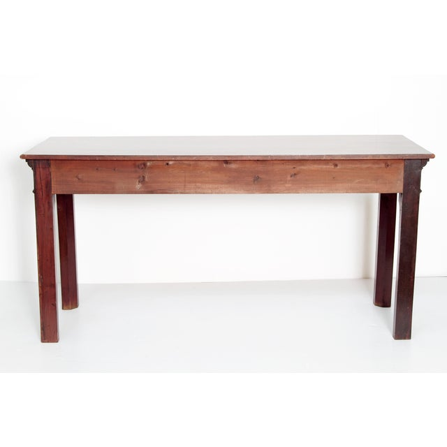 George III Mahogany Side/Serving Table For Sale In Dallas - Image 6 of 10