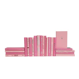 Pretty in Pink Book Set, (S/22) For Sale