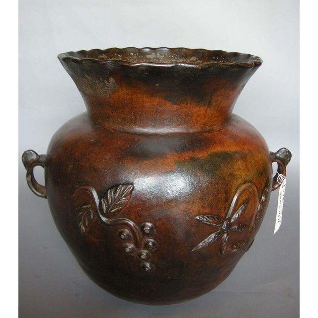 Primitive 19th Century Ceramic Pot For Sale - Image 3 of 6