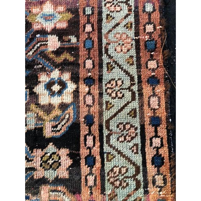 "Vintage Persian Hamadan Rug - 3'4"" x 5'5"" - Image 6 of 10"