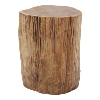 Organic Teak Stump Stool