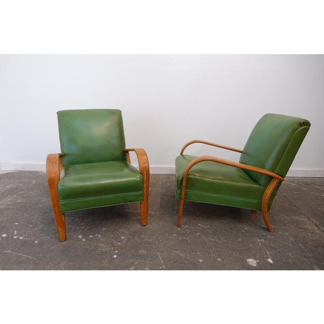 Mid-Century Modern Bentwood Club Chairs - a Pair For Sale - Image 9 of 9