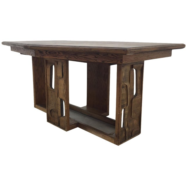 Brutalist Dining Table - Image 1 of 7