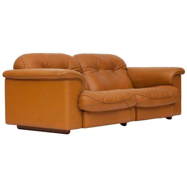 Adjustable Ds 101 Sofa in Brown Leather by De Sede For Sale - Image 11 of 11
