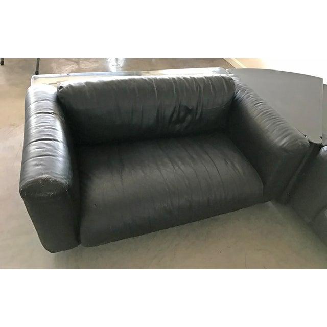 Animal Skin Cini Boeri For Gavina Knoll Gradual Sectional Sofa System - Set of 5 For Sale - Image 7 of 10