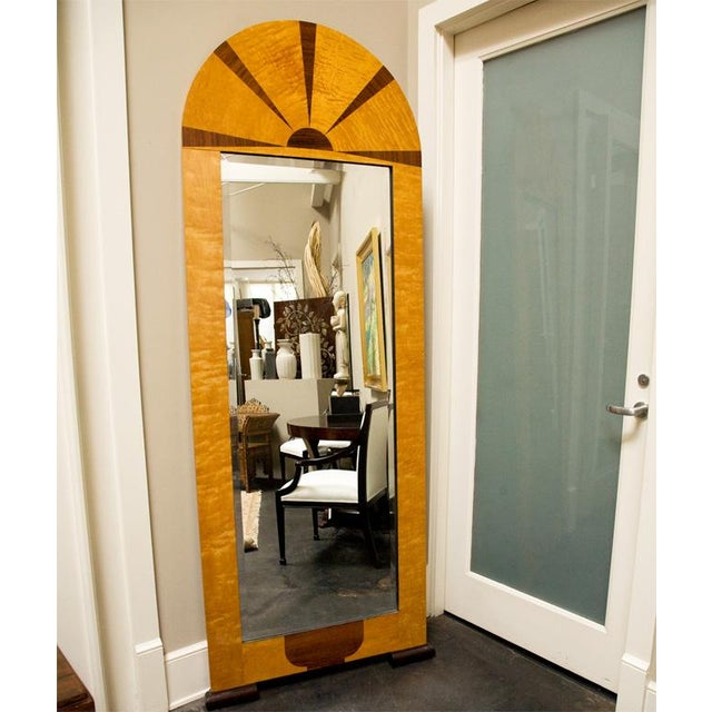 Art Deco Pair of Swedish Art Deco Mirrors, Early 20th c For Sale - Image 3 of 8
