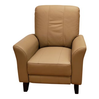 Dutailier Leather Glider Recliner For Sale