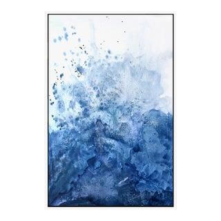 Water & Salt Blue- Framed Giclee Print 3248 For Sale