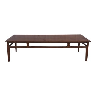 Mid Century Modern Long Coffee Table by Mersman For Sale