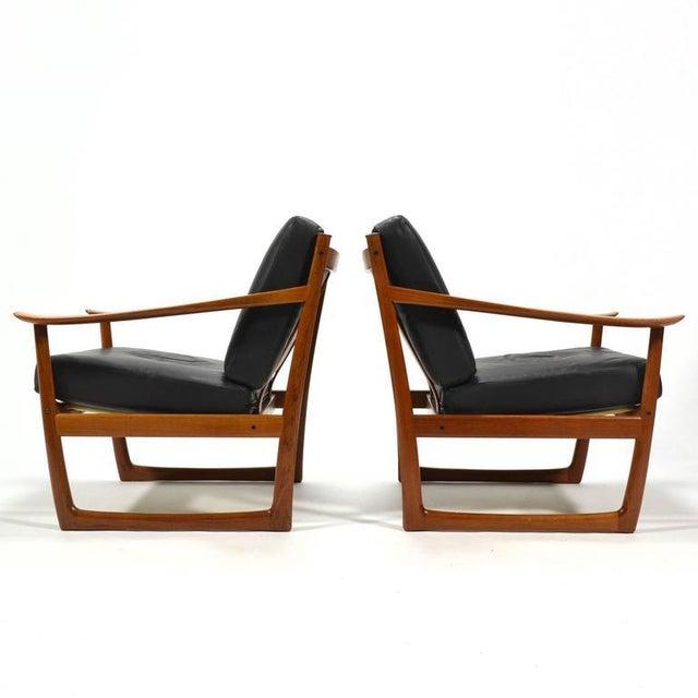 Peter Hvidt & Orla Mølgaard Nielsen Lounge Chairs by France & Son - Image 5 of 10