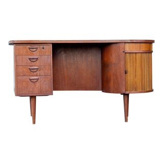 1960s Danish Modern Kai Kristiansen Tanker Desk For Sale