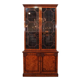 Antique English Bookcase For Sale