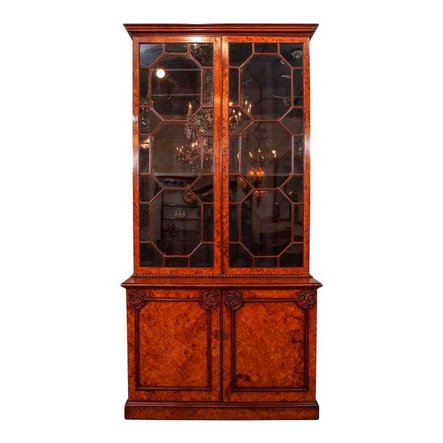 Antique English Bookcase For Sale