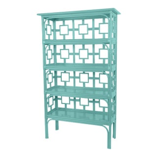 Sobe Etagere - Turquoise For Sale