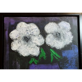 """Flowers"" Original Framed Painting Preview"