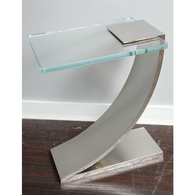 Custom Z Side Table For Sale In New York - Image 6 of 6