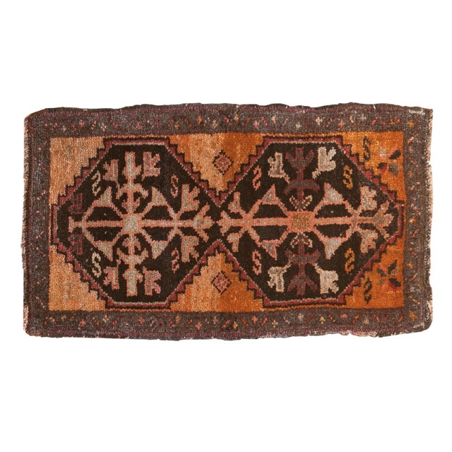 "Vintage Oushak Rug Mat - 1'8"" X 2'11"" For Sale"
