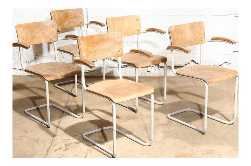 Dutch Mid-Century Modern Dining Chairs - Set of 5 For Sale  sc 1 st  Chairish & Dutch Mid-Century Modern Dining Chairs - Set of 5 | Chairish