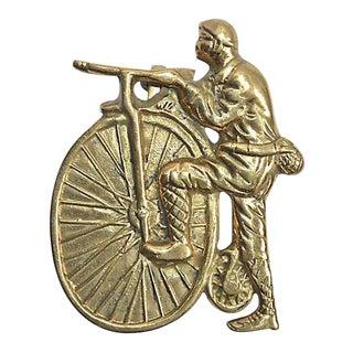 Bicycle Vintage Door Knocker, PennyFarthing